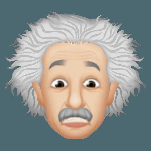 Einstein - Einsteinmoji - Sticker 15