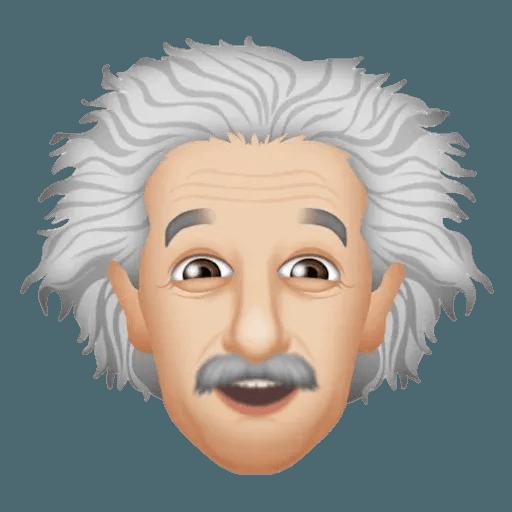 Einstein - Einsteinmoji - Sticker 4