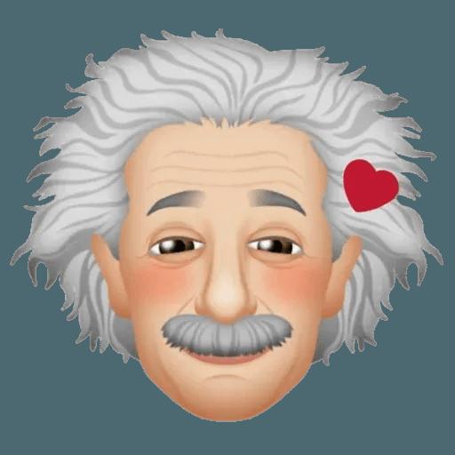 Einstein - Einsteinmoji - Sticker 3