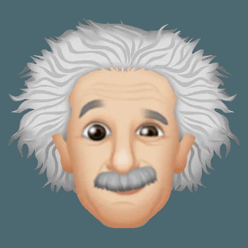 Einstein - Einsteinmoji - Sticker 10