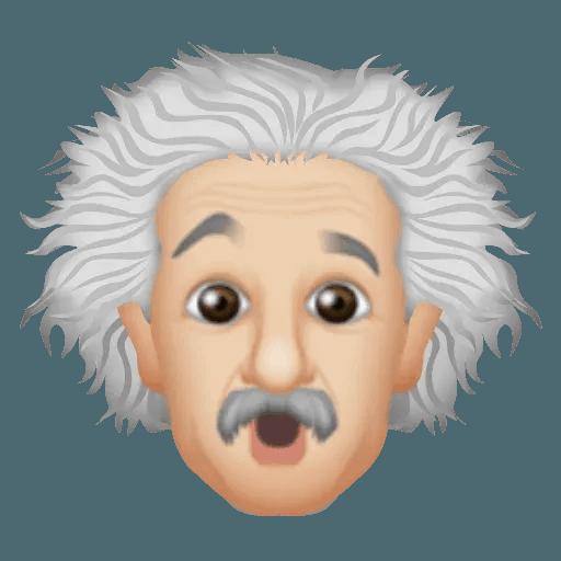 Einstein - Einsteinmoji - Sticker 7