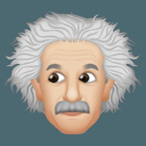 Einstein - Einsteinmoji - Sticker 19
