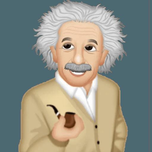 Einstein - Einsteinmoji - Sticker 29
