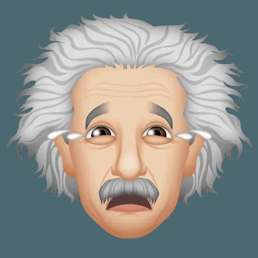 Einstein - Einsteinmoji - Sticker 11