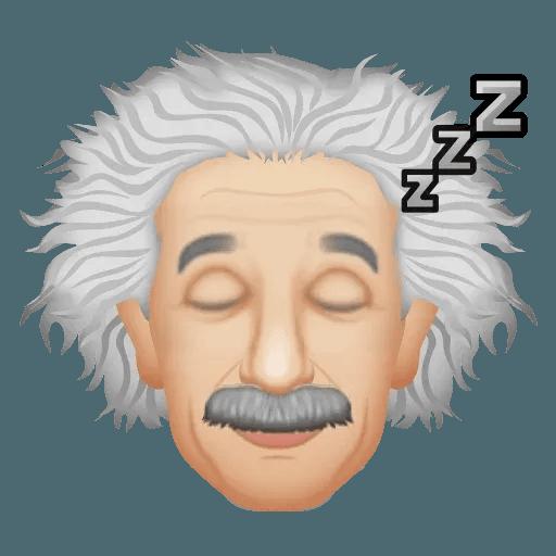 Einstein - Einsteinmoji - Sticker 8