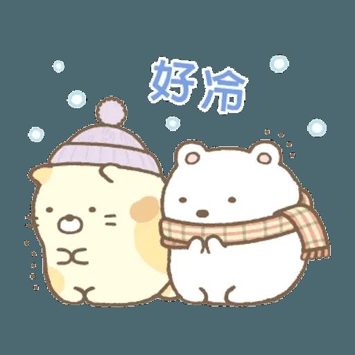 sumikkogurashi-winter - Sticker 20