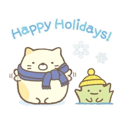 sumikkogurashi-winter - Sticker 17
