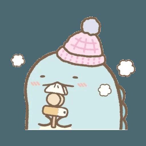 sumikkogurashi-winter - Tray Sticker