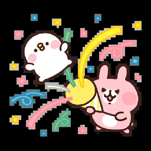 兔兔與P座 - Sticker 4