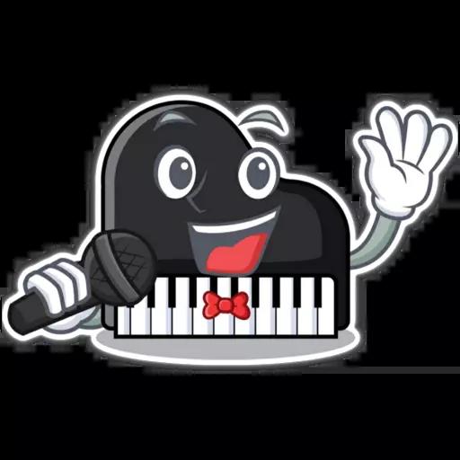 Piano - Sticker 22