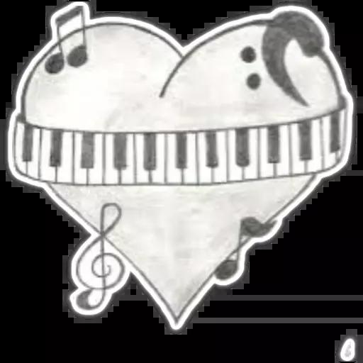 Piano - Sticker 16