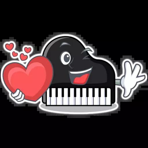 Piano - Sticker 23