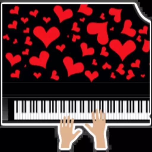 Piano - Sticker 11