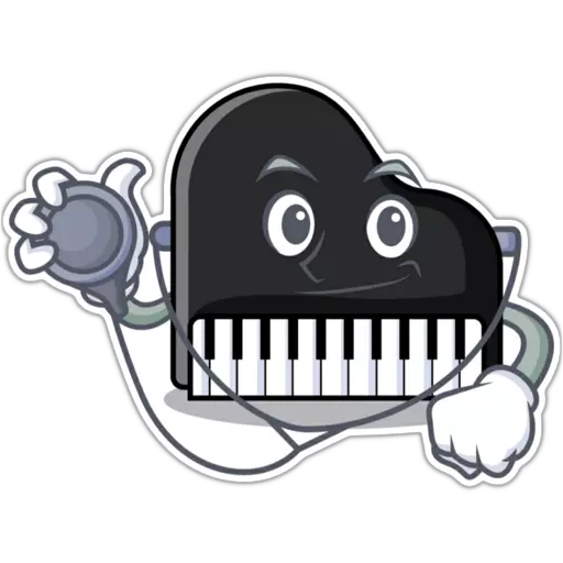 Piano - Sticker 25