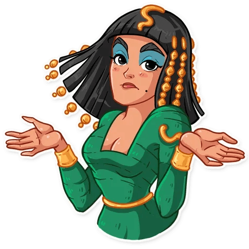 Cleopatra - Sticker 16