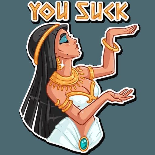 Cleopatra - Sticker 3