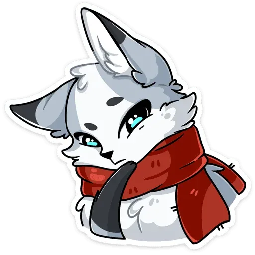 Polar foxy - Sticker 7