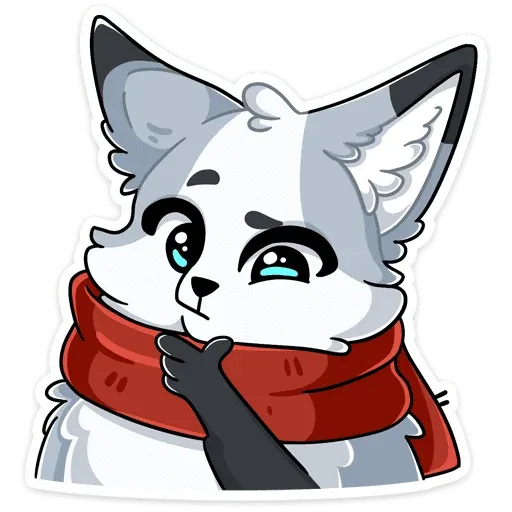 Polar foxy - Sticker 27