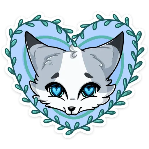 Polar foxy - Sticker 3