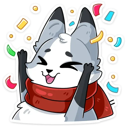 Polar foxy - Sticker 19
