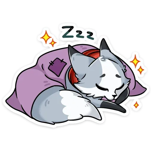 Polar foxy - Sticker 8
