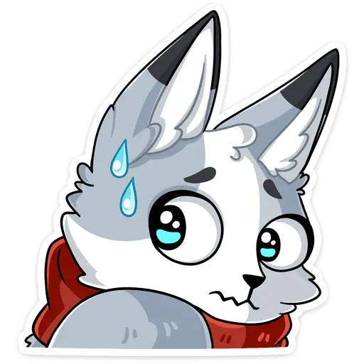 Polar foxy - Sticker 16