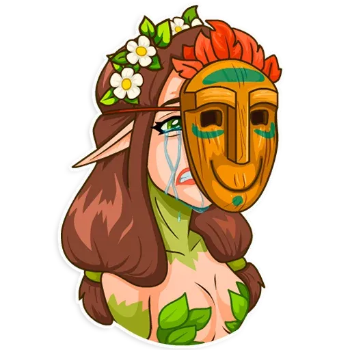 Wood Nymph 1 - Sticker 23