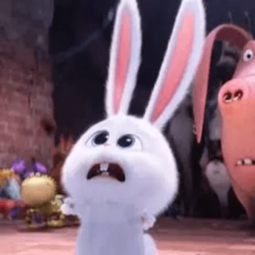 bunny reactions - Sticker 2