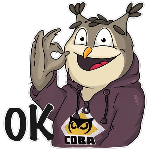 Owl - Sticker 19