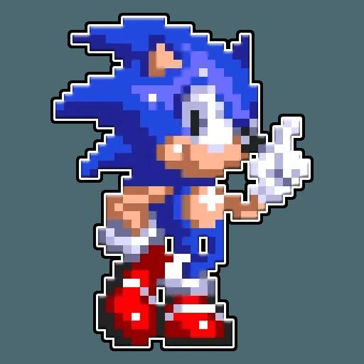 Sonic 3 - Sticker 3