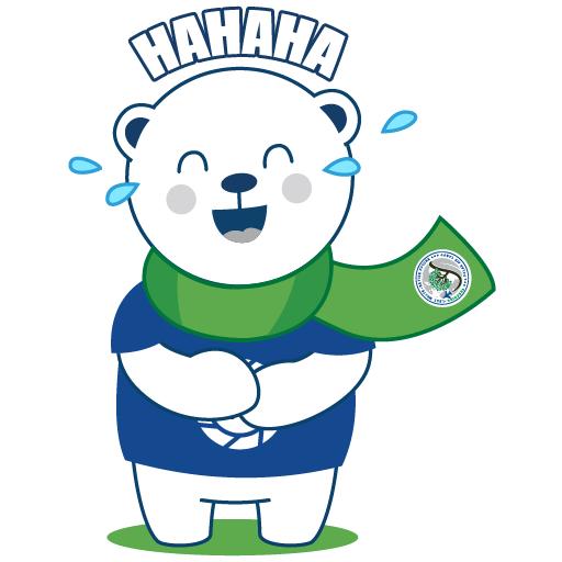 Polar Poby Bear 1 - Sticker 4