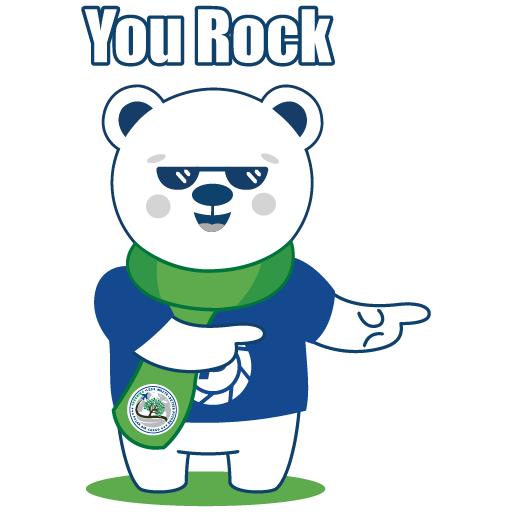 Polar Poby Bear 1 - Sticker 6