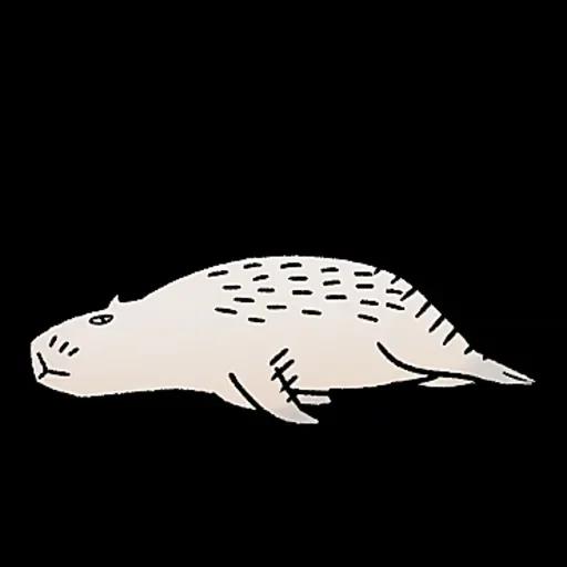 水豚卡皮與芭樂 - Sticker 11