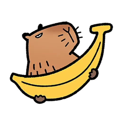 水豚卡皮與芭樂 - Sticker 10