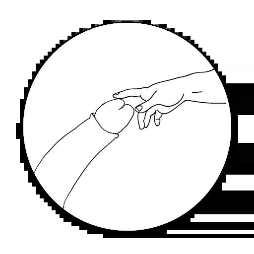 B&W - Sticker 3