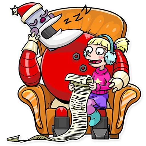 RoboSanta - Sticker 22