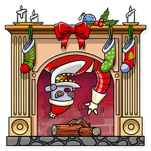 RoboSanta - Sticker 5