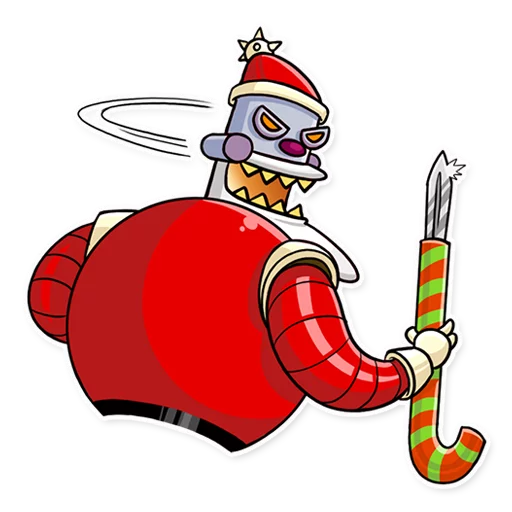 RoboSanta - Sticker 19