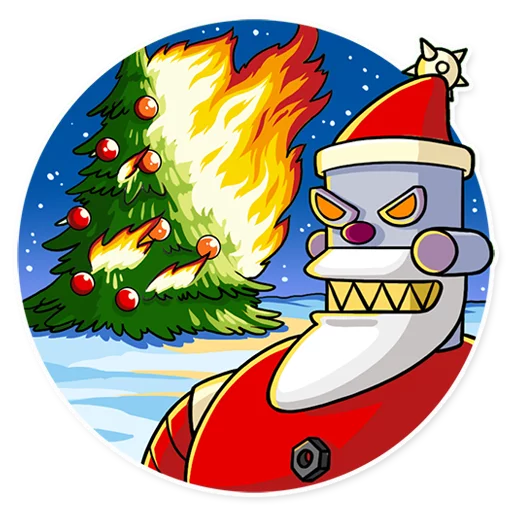 RoboSanta - Sticker 14