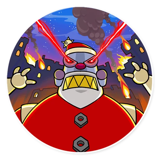 RoboSanta - Sticker 17