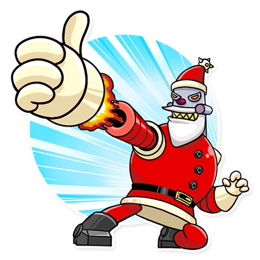 RoboSanta - Sticker 1