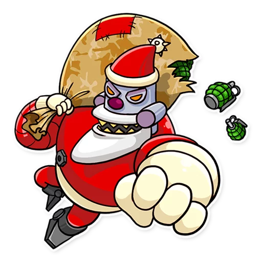 RoboSanta - Sticker 8