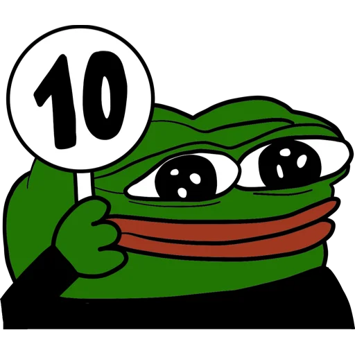 Pepe - Sticker 12