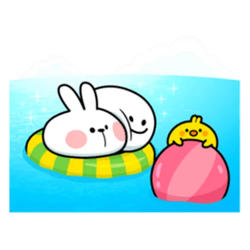 SpoiledRabbit_Summer_SeRaMo - Sticker 4