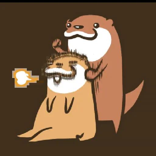 Otter Kotsumetti2.2 - Sticker 16