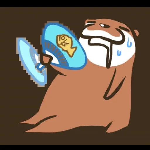 Otter Kotsumetti2.2 - Sticker 15