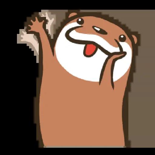Otter Kotsumetti2.2 - Sticker 17
