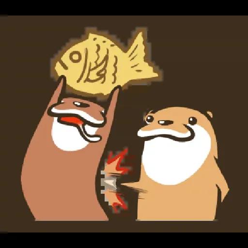 Otter Kotsumetti2.2 - Sticker 11