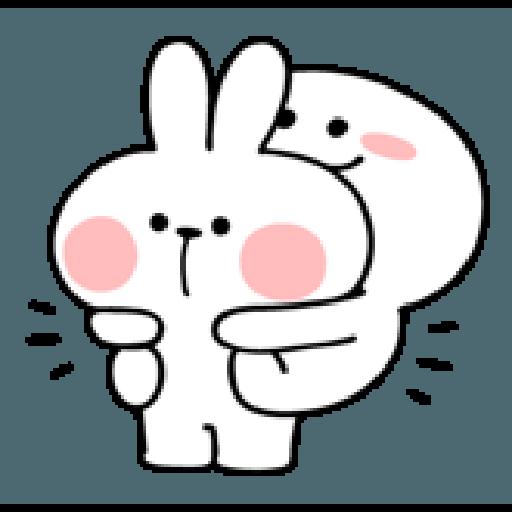 Rabbit Smile Person 3 - Sticker 13
