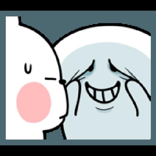 Rabbit Smile Person 3 - Sticker 25